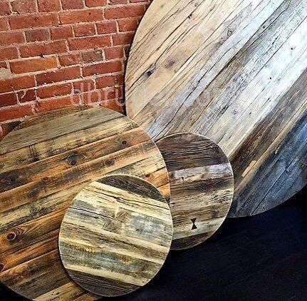 Столешницы для ресторанов, баров, кафе из старой амбарной доски
