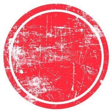 Красный круг ВНИМАНИЕ