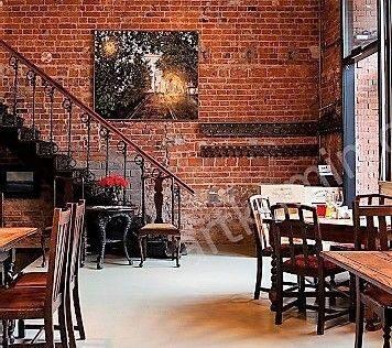 Ресторан лофт от мастерских Братьев немцеВ